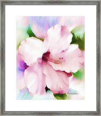 Hello Hibiscus Framed Print
