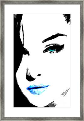 Hello Framed Print by Tbone Oliver