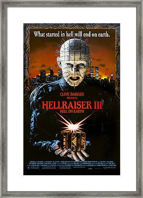 Hellraiser IIi Hell On Earth, Doug Framed Print