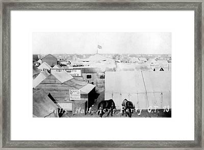 Hells Half Acre, Perry, Oklahoma Framed Print by Everett