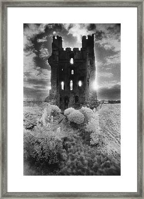 Helmsley Castle Framed Print by Simon Marsden