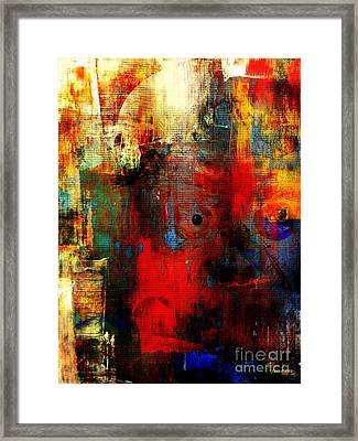 Help Framed Print by Fania Simon