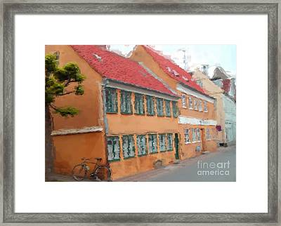Framed Print featuring the painting Helsingor by Susan Fisher