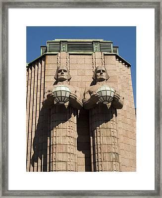 Helsinki Station Framed Print