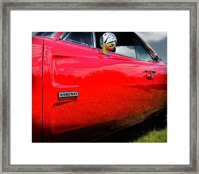 Hemi Charger Framed Print by Expressive Landscapes Fine Art Photography by Thom