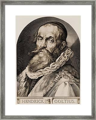 Hendrik Goltzius 1558-1617 Framed Print by Everett