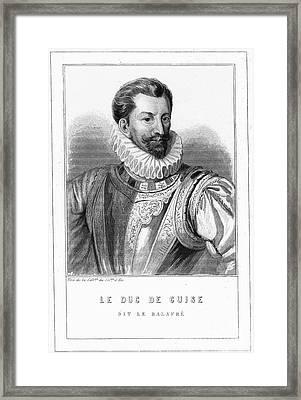 Henri I, Duc De Guise Framed Print by Granger