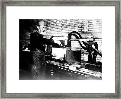 Henri Moissan, French Chemist Framed Print