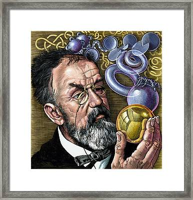 Henri Poincare, French Mathematician Framed Print by Bill Sanderson