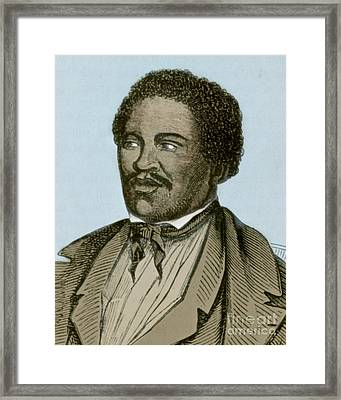 Henry Box Brown, African-american Framed Print