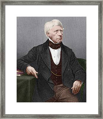 Henry Brougham, Scottish Lawyer Framed Print by Sheila Terry