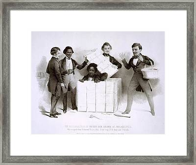 Henry Brown 1815-, Popularly Known Framed Print by Everett