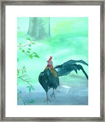 Henry Framed Print by Charlotte Hickcox