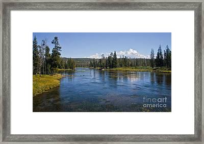 Henry Fork Of The Snake River Framed Print by Robert Bales