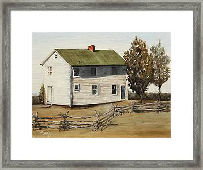 Henry House Framed Print