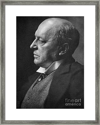 Henry James, American-born British Framed Print by Photo Researchers, Inc.