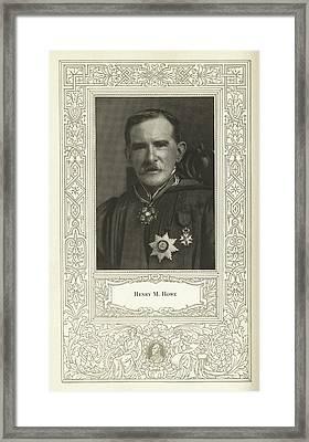 Henry M. Howe, American Metallurgist Framed Print