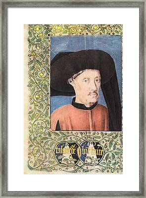 Henry The Navigator, Portuguese Patron Framed Print by Photo Researchers, Inc.