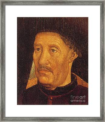 Henry The Navigator, Portuguese Patron Framed Print by Photo Researchers