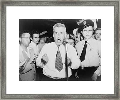 Henry Wallace 1888-1965, 1948 Framed Print by Everett