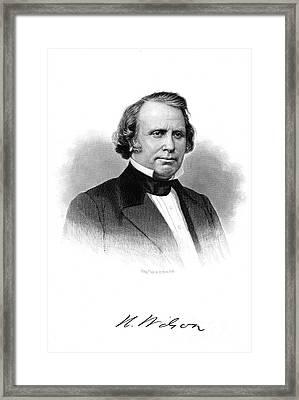 Henry Wilson (1812-1875) Framed Print