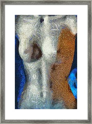 Her Figure 3 Framed Print by Angelina Vick