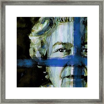 Her Majesty's A Pretty Nice Girl Framed Print by Paul Lovering