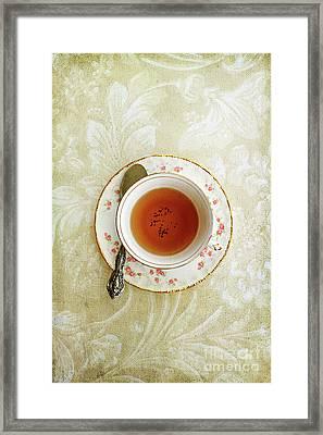Herbal Tea Framed Print by Stephanie Frey