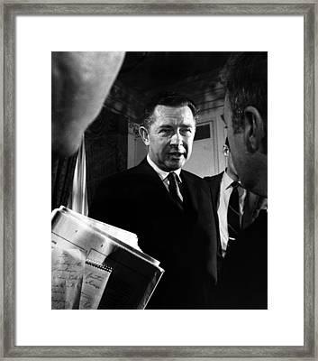 Herbert G. Klein, Appointed Framed Print by Everett