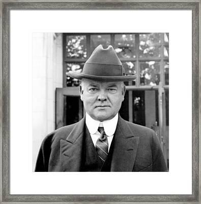 Herbert Hoover Framed Print