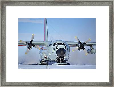 Hercules Lc130h 04 Framed Print by David Barringhaus