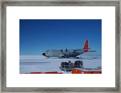Hercules Lc130h 06 Framed Print by David Barringhaus
