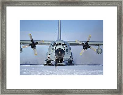 Hercules Lc130h Framed Print by David Barringhaus