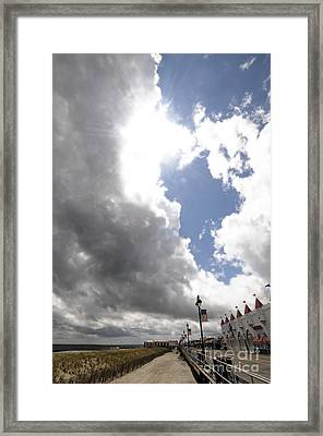 Here Come The Sun Framed Print by Mark Gold