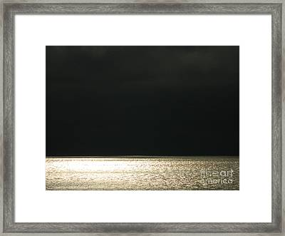 Framed Print featuring the photograph Here Comes The Rain by Everette McMahan jr