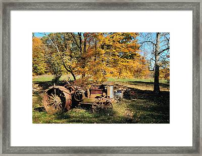 Here I'll Stay Framed Print