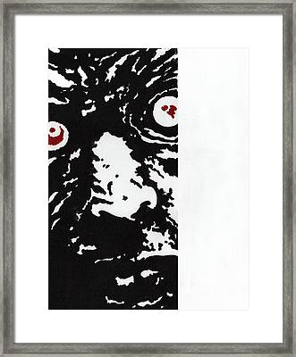 Here Is Zombie Framed Print