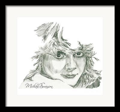 Michael Swanson Drawings Framed Prints
