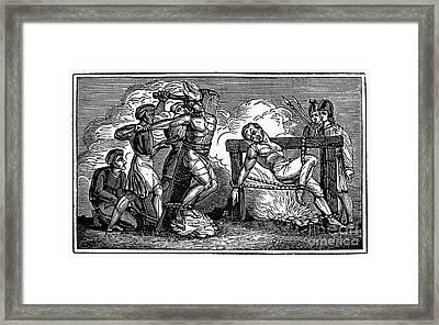 Heresy: Torture, C1550 Framed Print