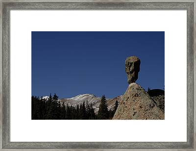 Herman's Point Framed Print by Arlyn Petrie