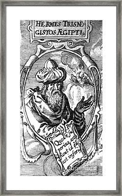 Hermes Trismegistus, Creator Framed Print