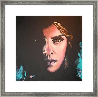 Hermione Framed Print by Jean Alexander