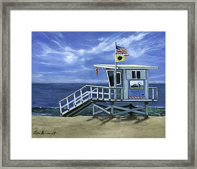 Hermosa Tower Framed Print