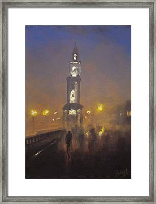 Herne Bay Halloween 1 Framed Print by Paul Mitchell