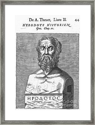 Herodotus Framed Print by Granger