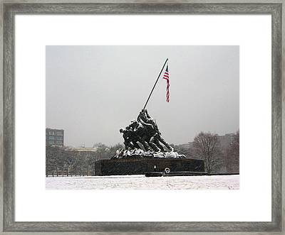 Heroes And Patriots Framed Print by Ed Golden