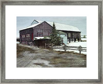 Herongate Barn Theatre Framed Print