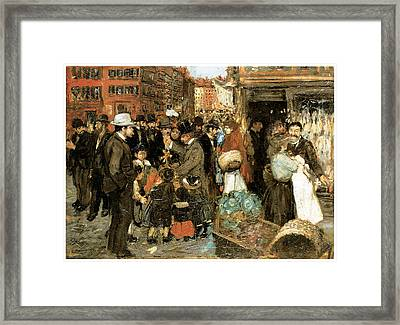 Hester Street Framed Print