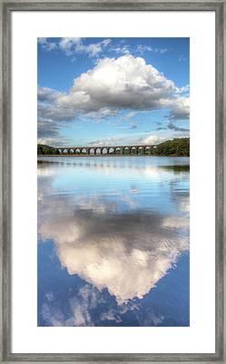 Hewenden Reservoir & Viaduct, Yorkshire Framed Print by Steve Swis
