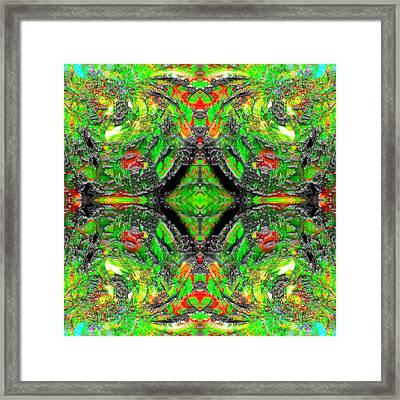 Hexatribe Framed Print by Christian Allen